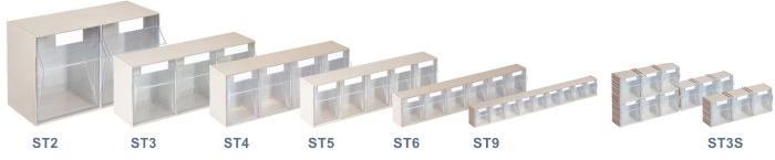 Cassettiere In Plastica Per Minuterie.Contenitori A Cassettiera Per Minuterie Con Cassetto A Madia