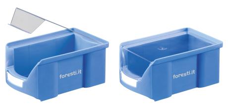 contenitori a bocca di lupo in plastica - serie fa